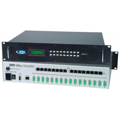 NTI Unveils Audio/Video Matrix Switch with Direct-Connect VGA Inputs and CAT5 RJ45 Outputs