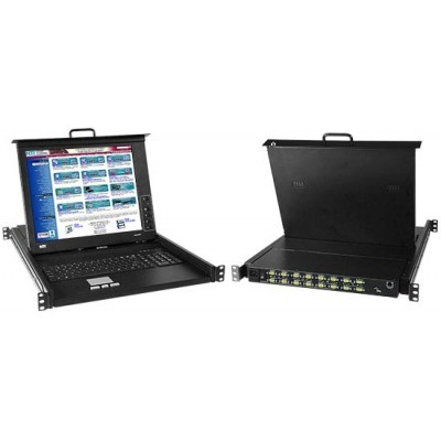 NTI Introduces KVM Drawers with CAC Reader Compatible High Density VGA USB KVM Switch or KVM Matrix Switch