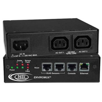NTI Introduces Secure Remote Power Reboot Switch with Environmental Monitoring