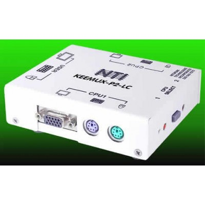 Network Technologies Inc Introduces Small, Affordable 2-Port PS/2 KVM Switch