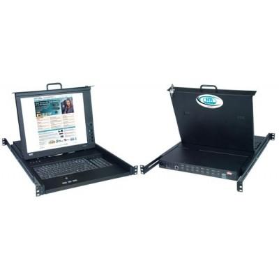 NTI Introduces RACKMUX® SUN USB KVM Drawer with Built-In High Density USB DVI KVM Switch