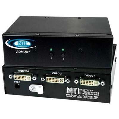 NTI Introduces DVI Video Switch