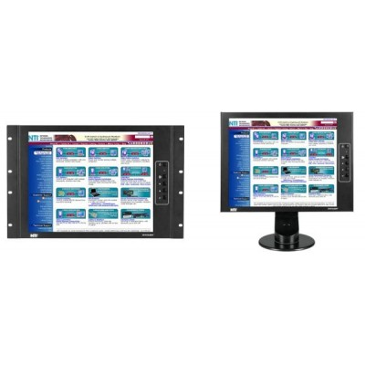 NTI Introduces Industrial TFT/LCD Monitor Product Line