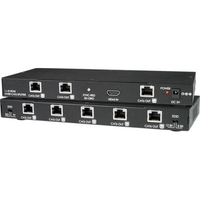 NTI Introduces the Low-Cost 8-Port HDMI Splitter/Extender via CAT6