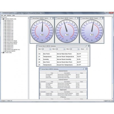 NTI Introduces Management Software for Its ENVIROMUX-MICRO Low-Cost Environment Monitoring Systems