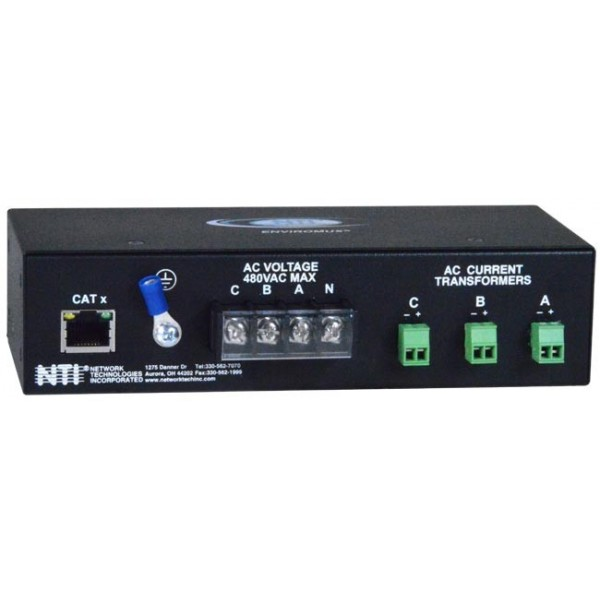 Power Monitors Inc : Phase ac power monitor voltage current transformer sensor