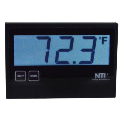 NTI Introduces a Temperature/Humidity Sensor with Large LCD Display