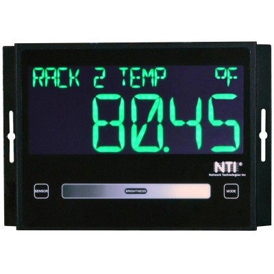 NTI Introduces Programmable LED Sensor Display for Enterprise Environment Monitoring System