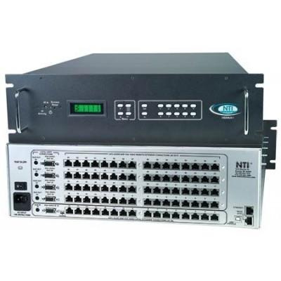 NTI Introduces Audio/Video Matrix Switch via CAT5 to 1,000 Feet: 16x16 to 16x64
