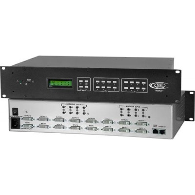 NTI Announces Low Cost 8X8 DVI Video Matrix Switch with Optional Audio