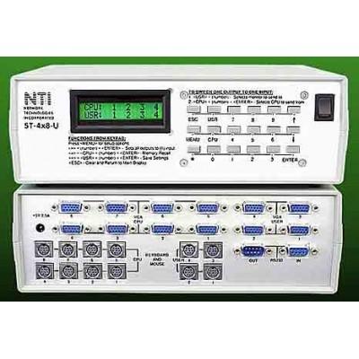 New Desktop Model Universal Matrix KVM Switches Provide Easy, Low Cost Multi-User Server Control
