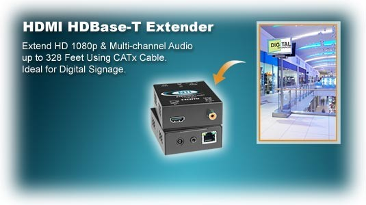 HDMI HD Base-T extender