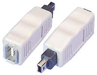 FireWire Adapter 6 Pin (Female) to 4 Pin (Male)