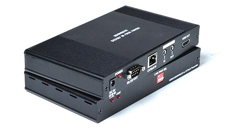 HDMI USB KVM Over IP Extender RS232 IR Audio CAT5 Remote Monitor