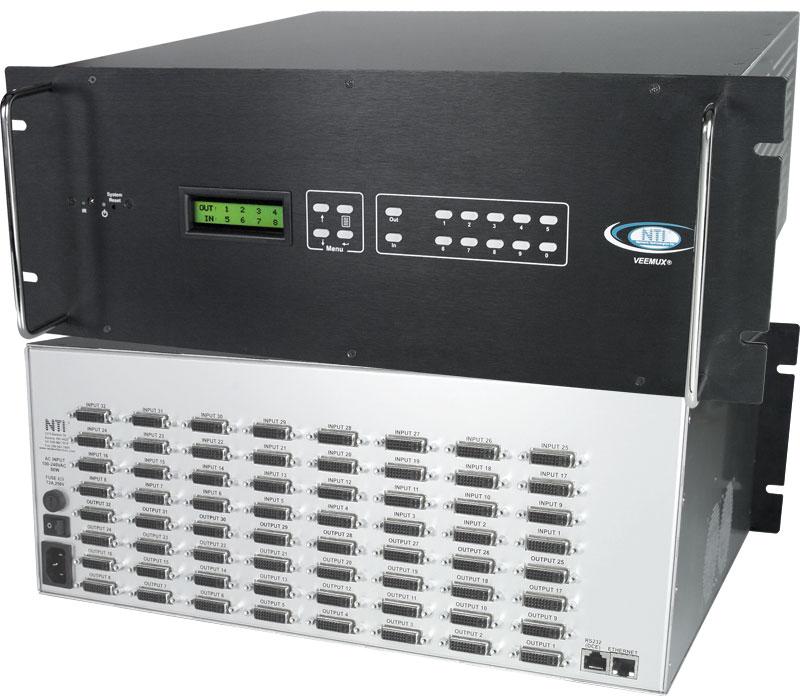 Dvi matrix switch digital video hdtv switcher 1080p dvi d router sm 32x32 dvi lcd dvi video matrix switch 32 computers publicscrutiny Gallery