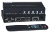 SPLITMUX-HD-2RSLC - Low-Cost HDMI Dual Screen Splitter/Multiviewer with IR & RS232, HDCP compliant