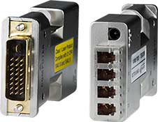 DVI Extender via Multimode Fiber Optic Cable