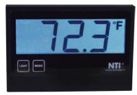 Temperature/Humidity Sensor with 3-Digit 7-Segment LCD Display – 2-inch Character Height