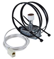 Strap-On Pipe Temperature Sensor, Spring-Loaded