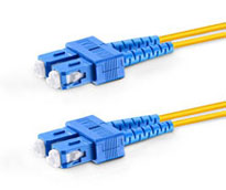 SC-SC Duplex Multimode Fiber Patch Cables, 50-Micron