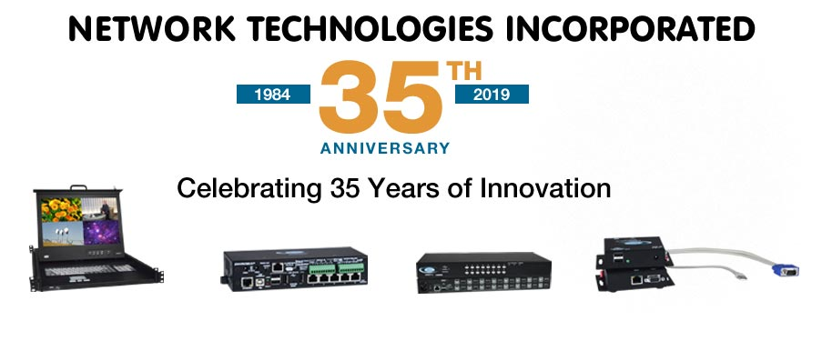 Network Technologies Incorportated, Celebrating 35 Years of Innovation