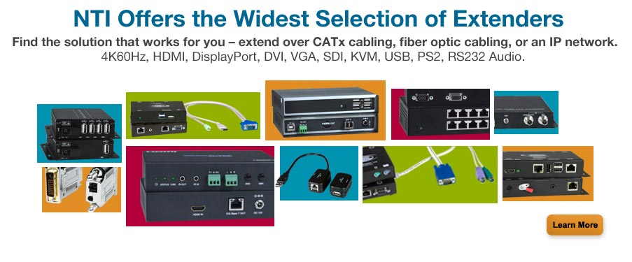 Your Source for High-Quality IT & A/V solutions - Extender, Video Matrix Switches, KVM Switches, KVM Drawers, Environmental Monitoring, & Much More