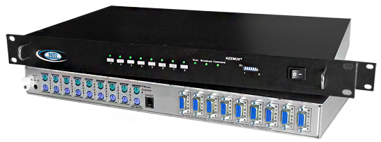 PS/2 KVM switches allow one keyboard, monitor and mouse to control multiple PCs