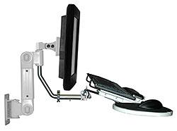 Lcd Monitor Arm Flat Panel Display Bracket Wall Mount