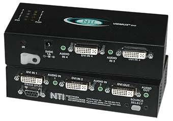 DVI/HDMI Video Switch with Audio