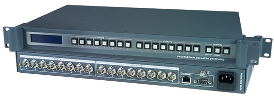 SDI/HD-SDI/3G-SDI Video Matrix Switch
