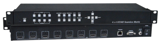 4x4 HDMI Multiviewer / Video Matrix Switch / Video Wall Processor