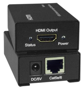 Low-Cost HDMI Extender via One CAT5e/6