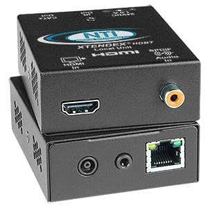HDMI HDBase-T Extender with IR via One CAT5e/6/7