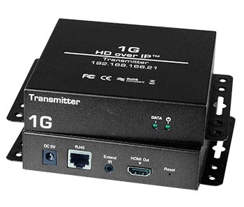 HDMI over IP Extender - Extend signal up to 333 feet