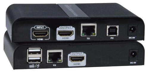 Low-Cost 4K HDMI USB KVM Extender Over IP