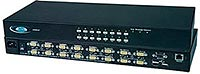 High Density USB KVM Switch, with USB Peripheral Port Option - UNIMUX-USBV-xHDU.