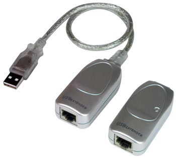 XTENDEX USB-C5-LC - Extends One Self-Powered or Bus-Powered USB Device up to 150 Feet.
