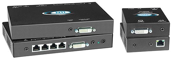 DVI video/audio splitter