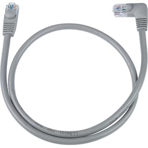 CAT5E Left Angle Straight Ethernet Network Cable 90-Degree 9 ft