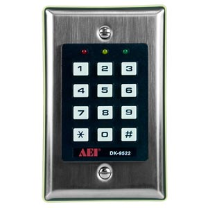Digital Keypad with 2 relay outputs