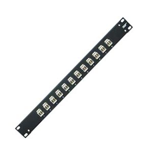 Duplex LC Fiber Optic Patch Panel 2RU 24 Port