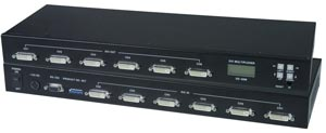 (Clearance) 6 in / 6 out DVI video matrix switch