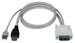 Compatible Cables For High Density USB DVI KVM Switch (UNIMUX-DVI-x) - 6 ft.