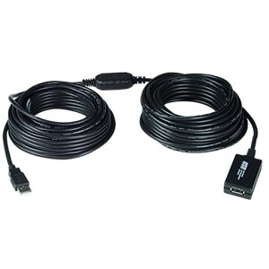 USB 2.0 active extension cable, 10 meters
